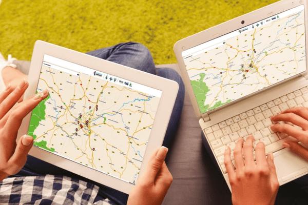 La cartographie d'accès au numérique a été élargie de la métropole de Limoges à l'ensemble du département de la Haute-Vienne.