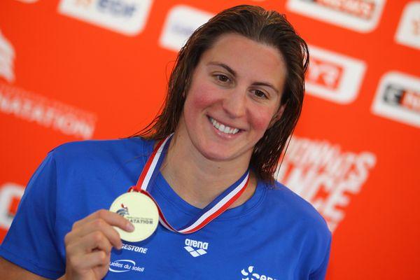Charlotte Bonnet, championne de France de natation décroche son ticket pour les JO.