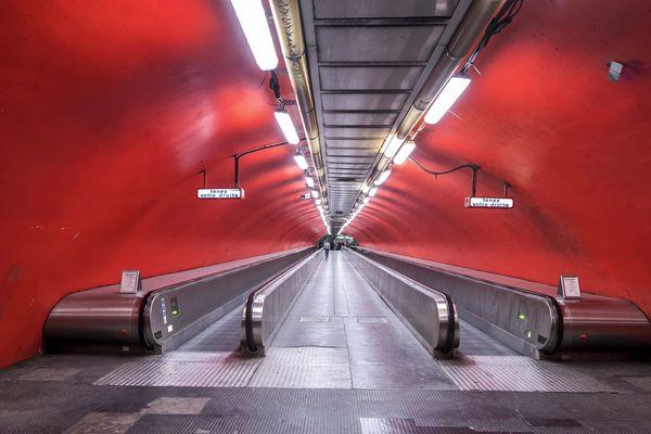 Le couloir entre Auber et Opéra sera fermé à partir du lundi 15 avril.