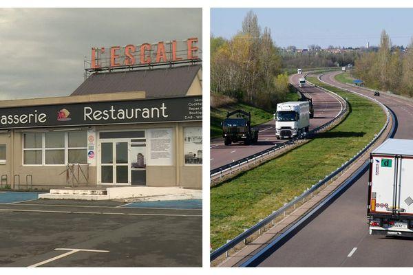 L'Escale Village, le plus grand restaurant routier de France à Déols dans l'Indre va ouvrir son parking dès 17 h ce soir pour accueillir les routiers avec des sanitaires supplémentaires sur le parking avoisinant du Mach36.
