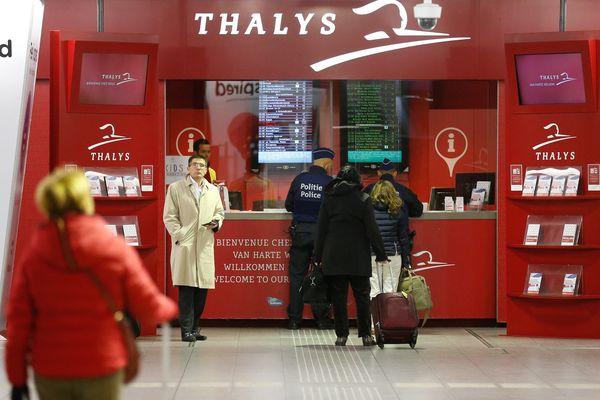 """Des portiques de sécurité seront installés """"avant le 20 décembre"""" à Lille et à Paris sur les lignes Thalys"""