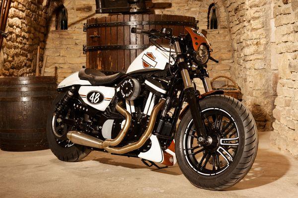 "La Harley 100% troyenne, 9ème de la ""Battle of the King"""
