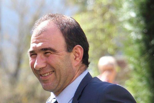Xavier Lagrave, candidat de la droite à Aire-sur-l'Adour dans les Landes