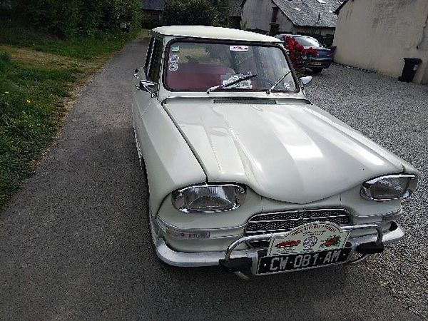 Ami 6 blanc carrare, 1964