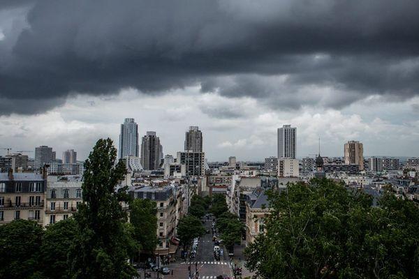 Météo France a placé la région Île-de-France en vigilance orange pour des orages.
