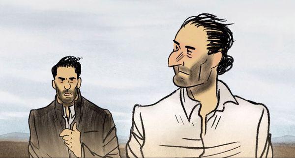"""Capture d'image du film """"Josep"""" de Aurel."""