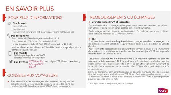 Grève SNCF : les contacts