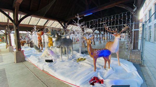 Les automates s'installent à Saint-Dizier pour célébrer les fêtes de fin d'année et prendre résidence dans des magasins vides et fermés.