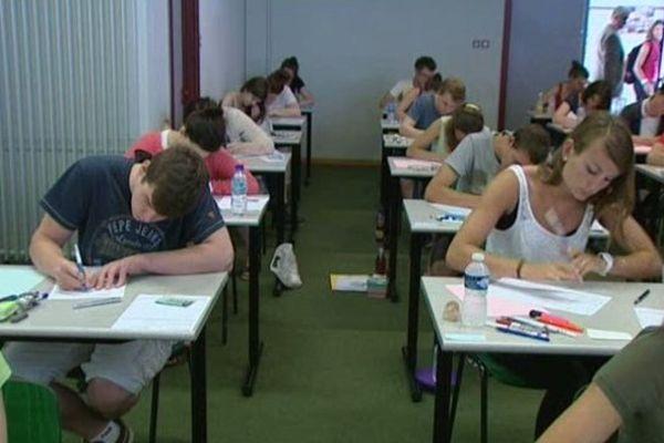 Le lycée d'Erstein accueillait 223 candidats