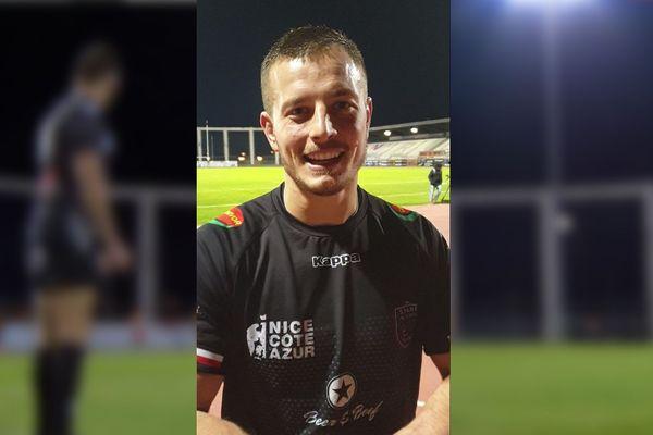Jeremy Malavard, le capitaine du Stade Niçois.