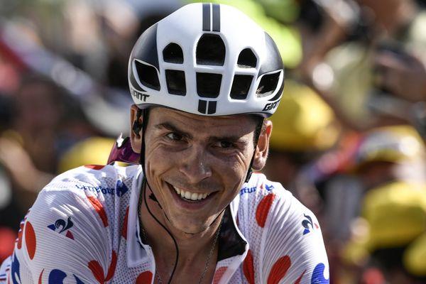 Warren Barguil pendant le Tour de France 2017