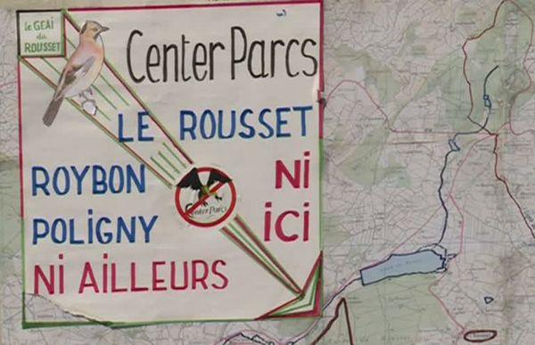 Carte mobilisation Center Parcs