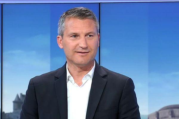 Olivier Létang, président exécutif du Stade Rennais, invité sur France 3 Bretagne