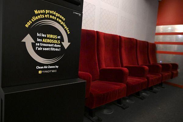 Le cinéma l'Odyssée s'est doté de purificateurs d'air.