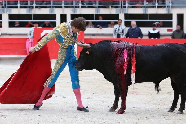 Juan Leal dans une séquence à bout portant avec Turronero, n° 127 de Gallon