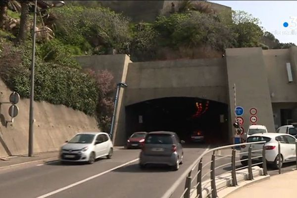 Le tunnel de Bastia (Haute-Corse) va faire l'objet d'importants travaux de rénovation à partir de 2020.