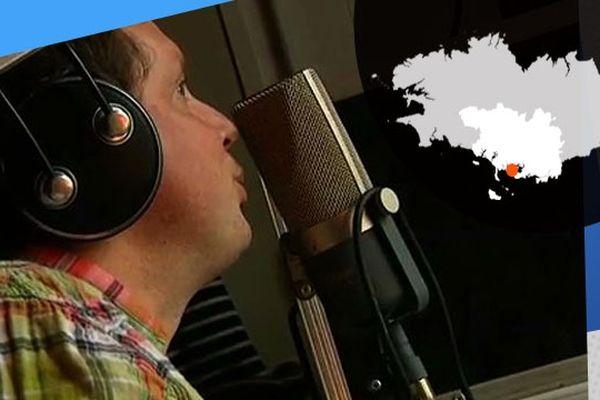 Benjamin Court a monté sa propre radio, Izenah, qui émet depuis l'Île aux Moines
