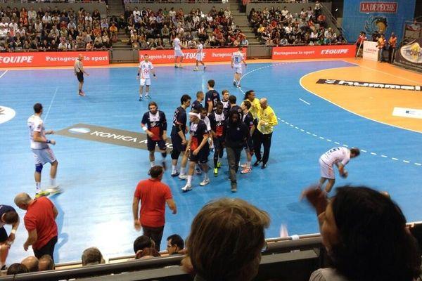 Les parisiens du PSG Handball ont raté leur entame de championnat en faisant match nul, jeudi soir face à Toulouse (29-29)