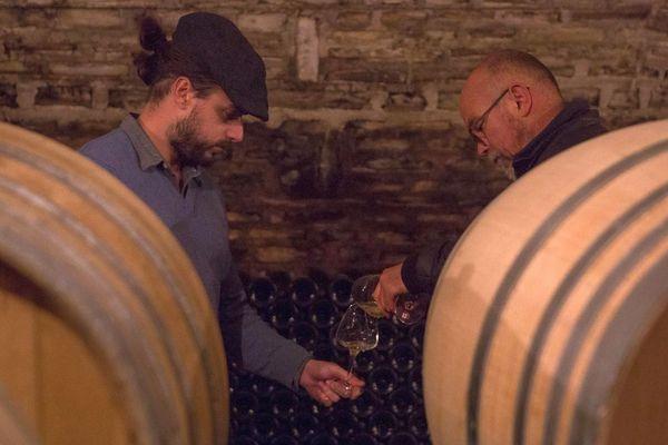 Saint-Sornin (Charente) - le vignoble du Guimbelot a reçu la visite du globe-trotter de Wine Explorers - 2019.