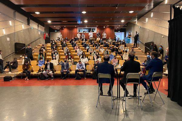 Montpellier - François Hollande a répondu aux questions des collégiens - 27.05.21