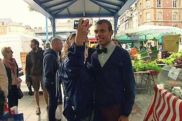 Andrew Dufresne ce dimanche sur le marché de la place St Marc