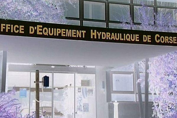 L'Office d'équipement hydraulique de Corse sous pression
