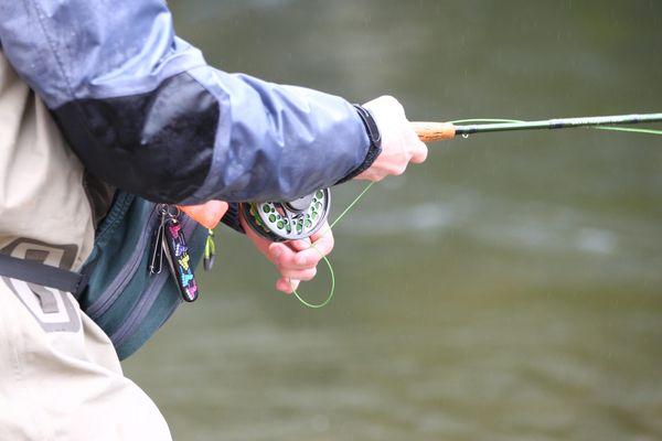 Ouverture de la pêche. photo d'illustration