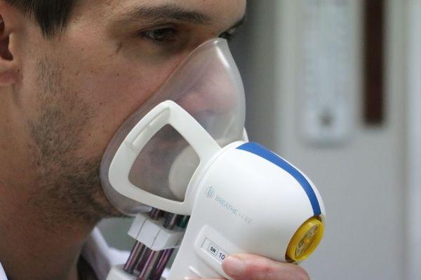 Cet appareil développé par le CHU de Lille permet des capturer des COV (composés organiques volatils) marqueurs de pathologies.