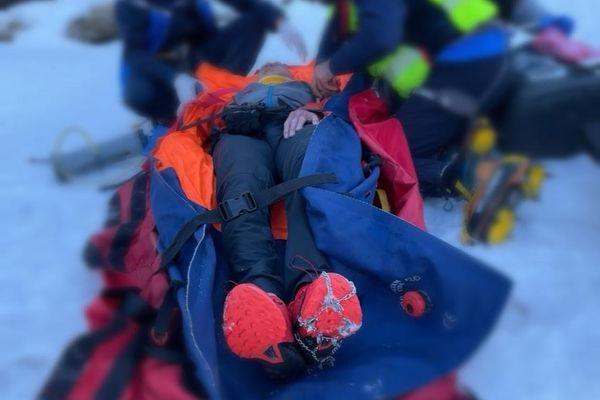 Un homme de 65 ans a fait une chute d'environ 300 mètres dans le secteur de l'Hospice de France