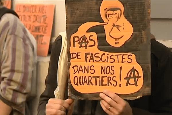 Non au fachisme à Besançon