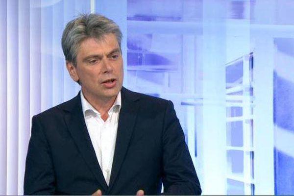 Le maire communiste de Dieppe, Sébastien Jumel