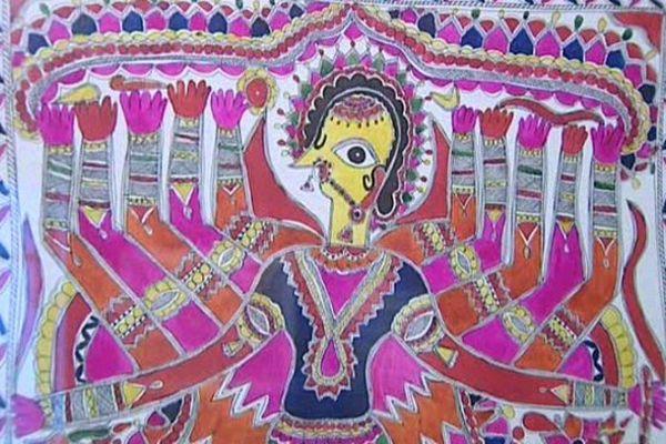 Des masques de l'Himalaya, mais aussi des peintures de Vichnou, de la déesse-mère, du roi démon Ravana et beaucoup d'autres objets magiques composent l'exposition Himalaya Tribal visible depuis le 1er mai au musée des arts d'Afrique, d'Asie et d'Océanie à Vichy.