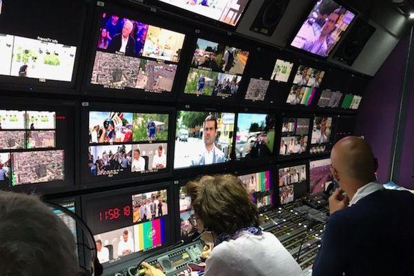 La régie mobile de France télévisions @Thierry Gelhaye