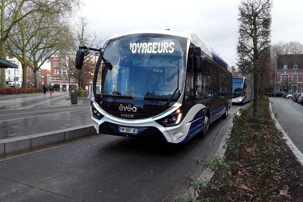 Image d'illustration d'un bus à Douai.