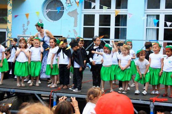 Une kermesse d'école à Nantes. Image d'illustration.
