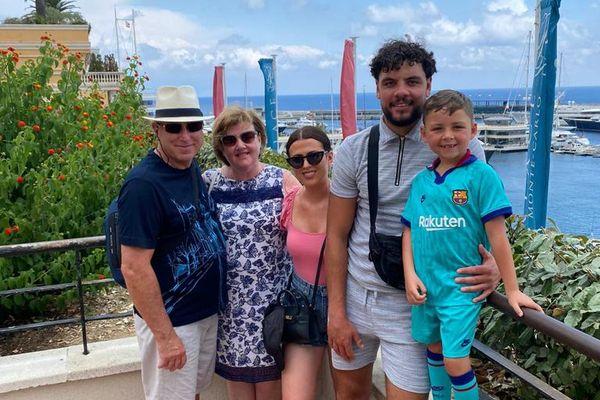 La famille Lee a décidé de repousser son voyage sur la Côte d'Azur. Port de Saint-Laurent-du-Var, l'été dernier.