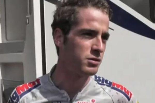 Théo Wimpère, coureur de l'équipe Big Mat Auber 93