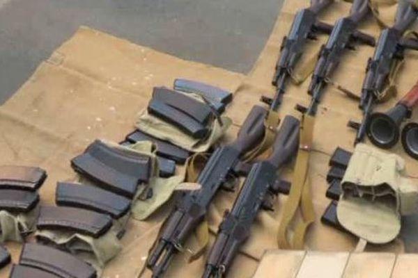 """Les services ukrainiens auraient """"piégé"""" Grégoire Moutaux en lui proposant les armes qu'il recherchait."""