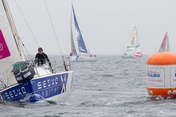 La 4é étape de la Solitaire du Figaro est partie de Roscoff jeudi 20 juin.