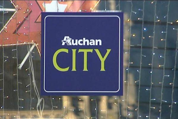 Auchan City dans le centre de Tourcoing.