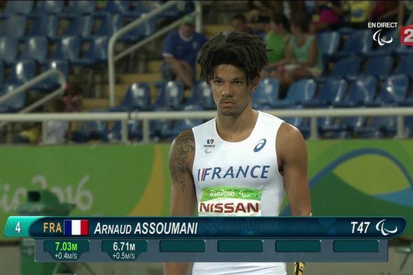 Le bronze pour Arnaud Assoumani aux Jeux Paralympiques de Rio
