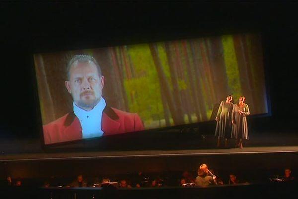 L'opéra Der Freischütz de Weber au Théâtre de Caen mis en scène de la Compagnie 14:20 et l'Insula Orchestra
