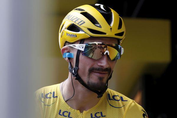 L'Auvergnat Julian Alaphilippe reste en jaune pour la sixième fois
