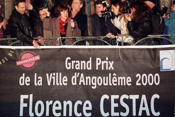 Florence Cestac est la seule femme à avoir obtenu le Grand Prix de la ville d'Angoulême dans l'histoire du festival.