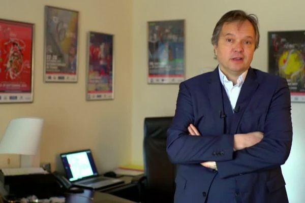 Didier Gérard directeur de l'Open d'Orléans (Loiret) - mars 2018