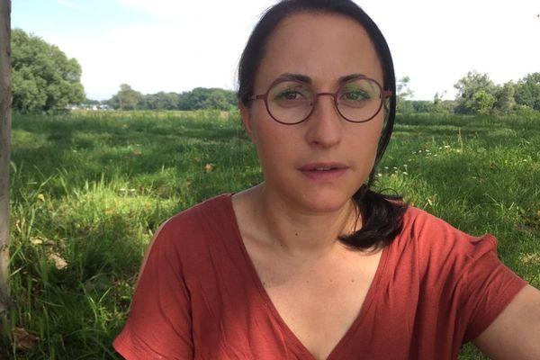 Céline Cellier, psychologue aux HUS