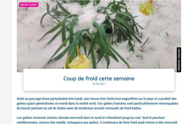Alerte sans équivoque de Météo France qui inquiète les viticulteurs