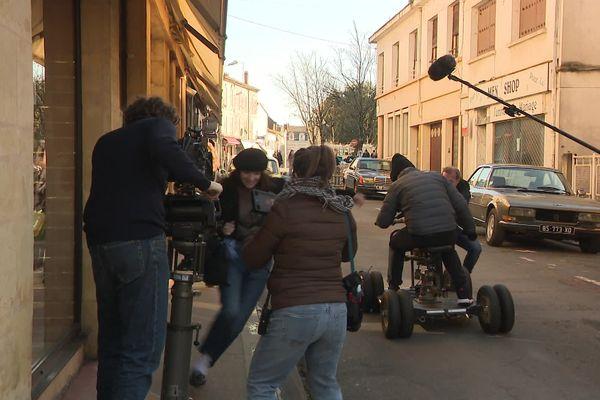 Le tournage de Stella est amoureuse en Dordogne