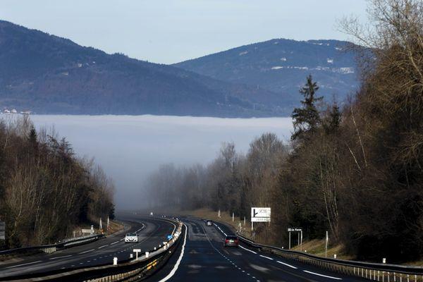 La vallée de l'Arve, en Haute-Savoie, est l'une des vallées les plus polluées de France. (Archives)