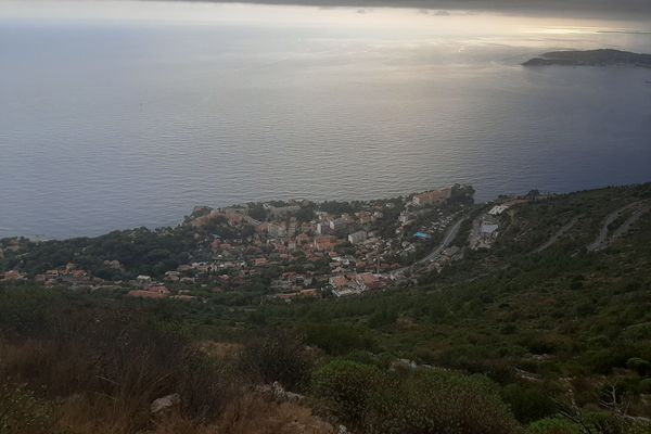 Une partie de la commune de Cap d'Ail (Alpes-Maritimes).